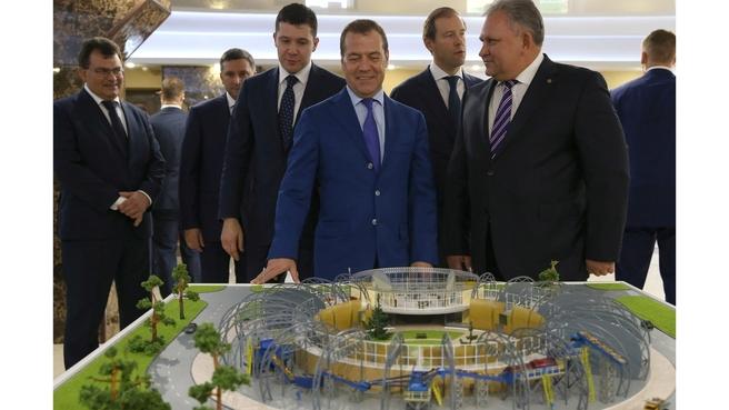 Посещение Калининградского янтарного комбината