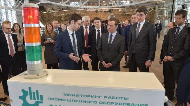 Осмотр инновационных разработок компаний – резидентов фонда «Сколково»