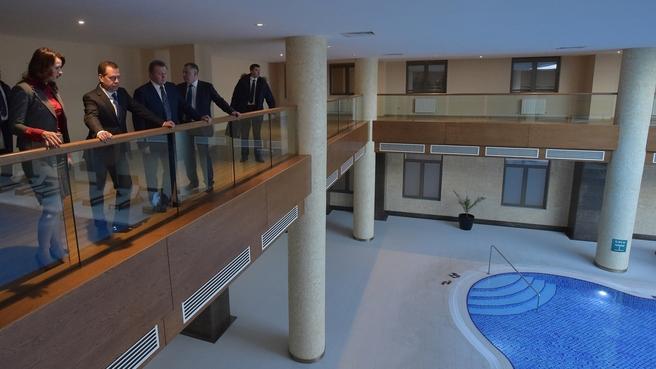 Посещение санаторно-курортного комплекса «Источник» в Ессентуках