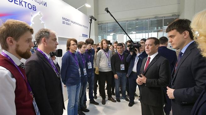 Московский международный салон образования. Поздравление студентов - победителей и призеров Международной студенческой олимпиады по программированию ICPC 2019 года