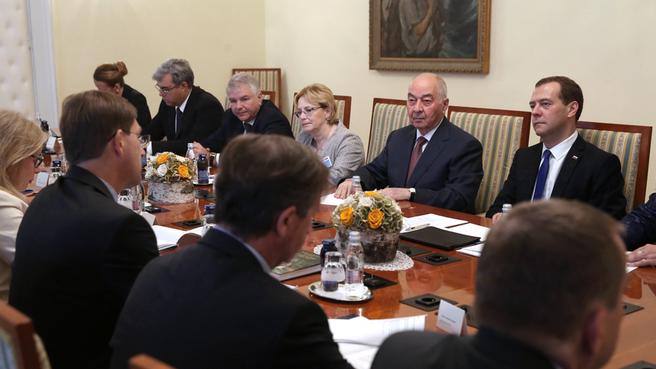 Российско-словенские переговоры