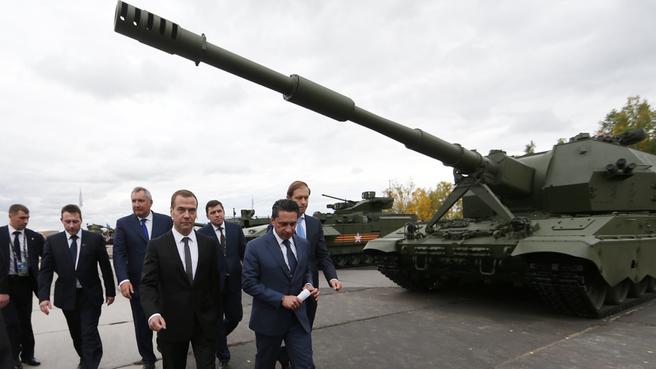 Х Международная выставка вооружения в Нижнем Тагиле