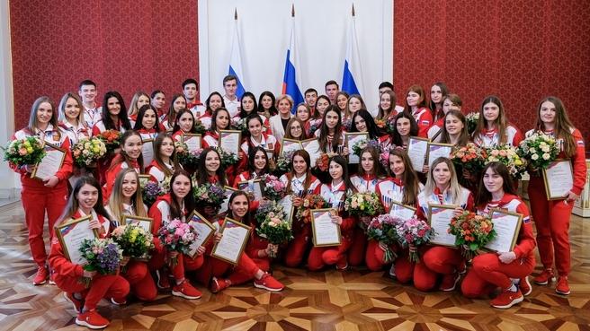 Встреча Ольги Голодец с российскими спортсменами – призёрами XXIX Всемирной зимней универсиады 2019 года в Красноярске