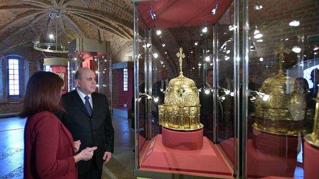 Посещение Новгородского государственного объединённого музея-заповедника