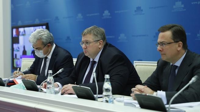 Алексей Оверчук принял участие в заседании Группы высокого уровня Совета Министров Союзного государства