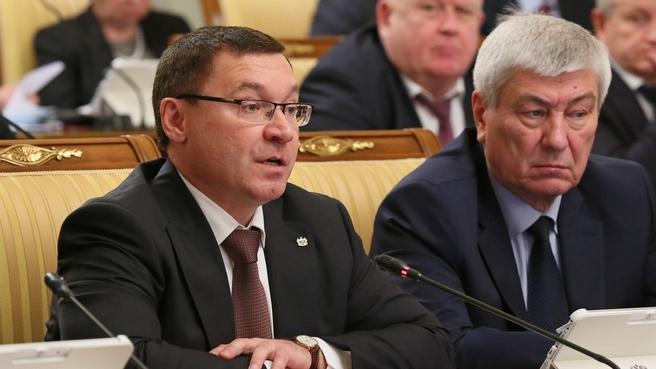 Сообщение губернатора Тюменской области Владимира Якушева