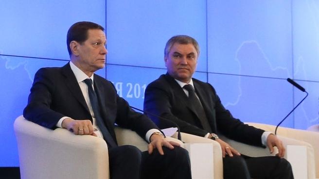 Встреча с фракцией партии «Единая Россия» в Государственной Думе
