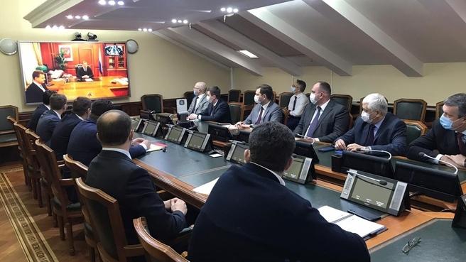 Юрий Трутнев представил нового главу Минвостокразвития России сотрудникам министерства