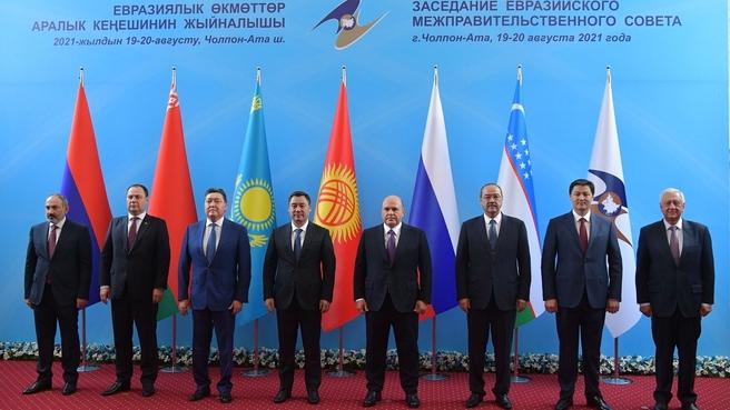 Встреча Президента Киргизии Садыра Жапарова с главами делегаций