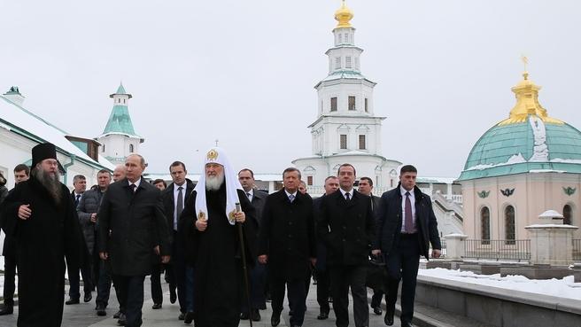 Посещение Воскресенского Ново-Иерусалимского монастыря