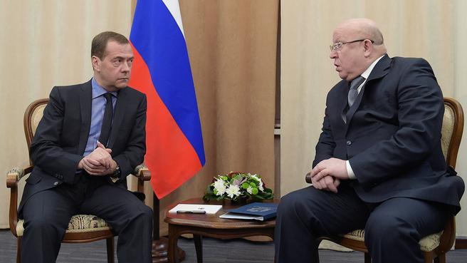 Беседа с губернатором Нижегородской области Валерием Шанцевым