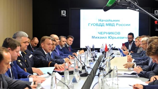 Заседание Правительственной комиссии по обеспечению безопасности дорожного движения