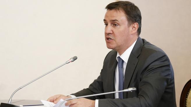 Доклад Дмитрия Патрушева на заседании Правительственной комиссии по вопросам агропромышленного комплекса и устойчивого развития сельских территорий