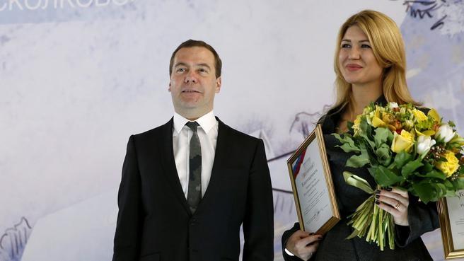 С менеджером по специальным проектам Фонда развития Центра разработки и коммерциализации новых технологий Алиной Сусловой