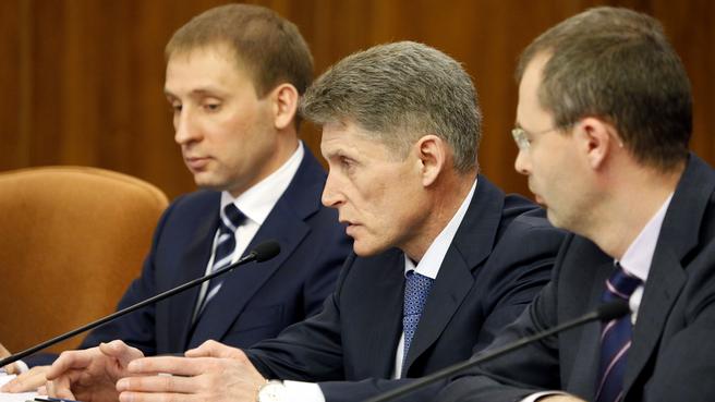 Временно исполняющий обязанности губернатора Сахалинской области Олег Кожемяко