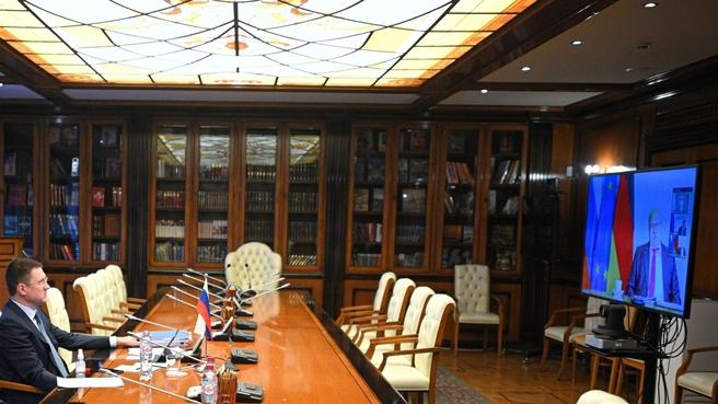 Федеральный Министр экономики и энергетики ФРГ Петер Альтмайер  на встрече  с Александром Новаком