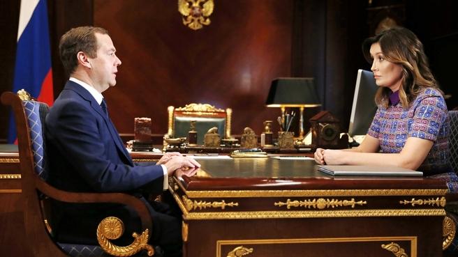 Встреча с генеральным директором Агентства стратегических инициатив Светланой Чупшевой