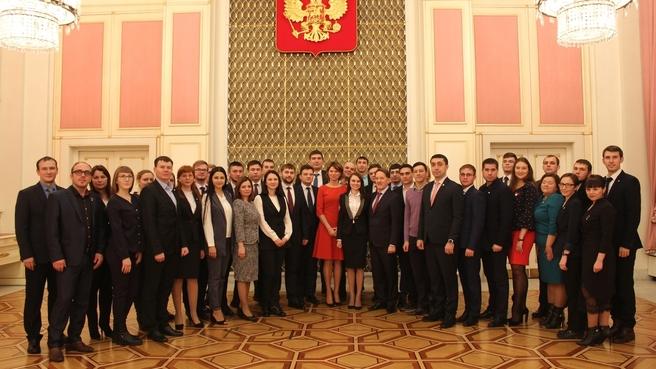 Встреча Алексея Гордеева  с активом сельской молодежи