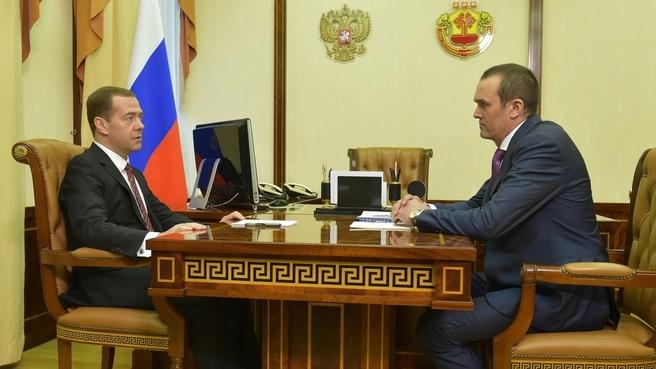 Встреча с главой Чувашской Республики Михаилом Игнатьевым