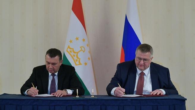 Состоялось 17-е заседание Межправительственной комиссии по экономическому сотрудничеству между Российской Федерацией и Республикой Таджикистан