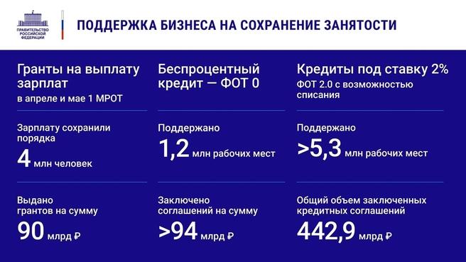 К отчёту о  деятельности Правительства России за 2020 год. Слайд 9