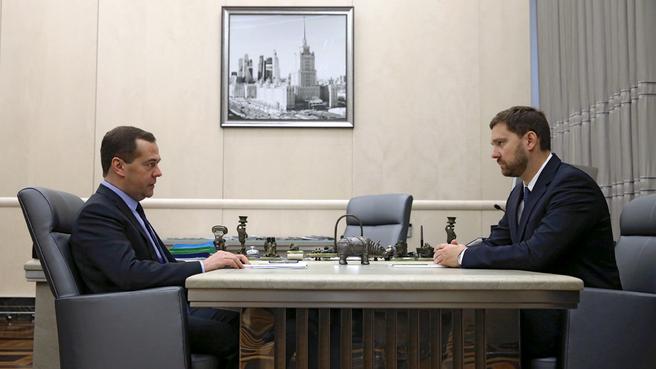 Встреча с руководителем Федерального агентства по делам национальностей Игорем Бариновым