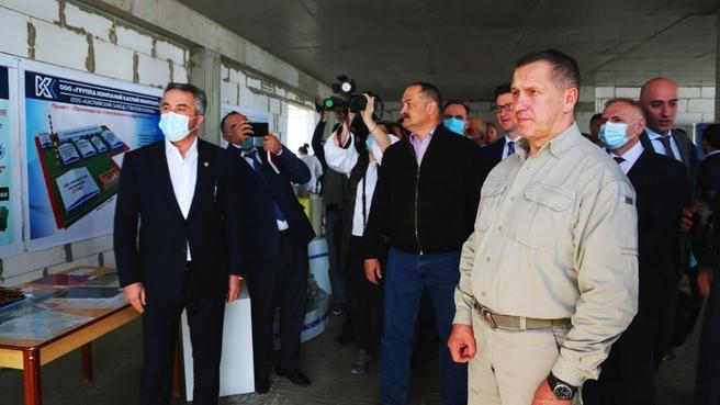Юрий Трутнев совершил рабочую поездку в Республику Дагестан