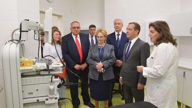 Посещение Международного медицинского кластера в инновационном центре «Сколково»