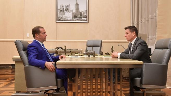 Встреча с генеральным директором Российского экспортного центра Андреем Слепнёвым