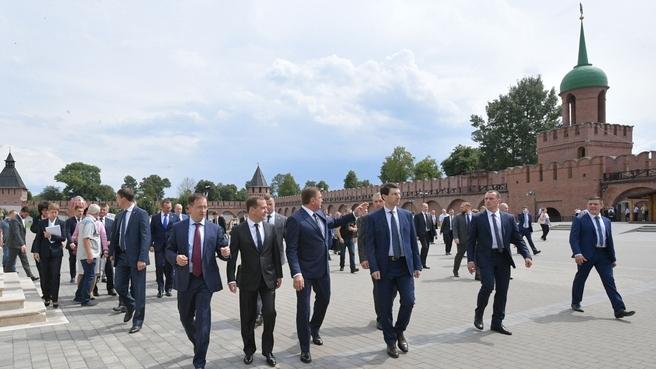 Посещение Тульского кремля