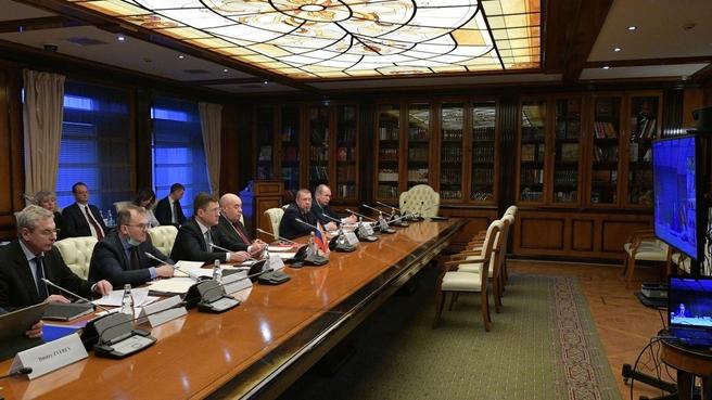 Состоялось 10-е заседание Межправительственной смешанной Российско-Испанской комиссии по экономическому и промышленному сотрудничеству