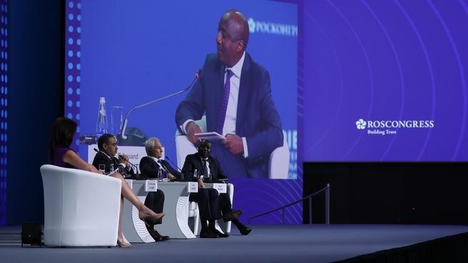 Андрей Белоусов принял участие в торжественном открытии Петербургского международного экономического форума – 2021
