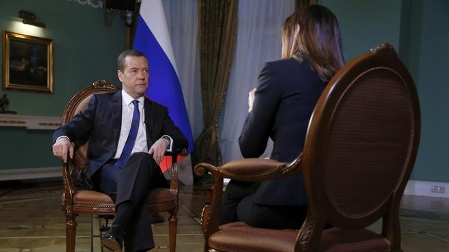 Интервью Дмитрия Медведева Второму телеканалу Израиля