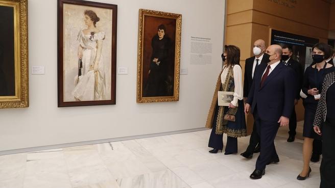 Осмотр Национальной картинной галереи в Афинах