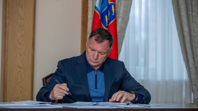 Марат Хуснуллин на совещании по вопросам социально-экономического развития Магаданской области