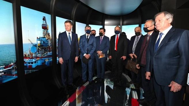 Рабочая встреча Александра Новака с Министром нефти Республики Ирак Ихсаном Исмаилом