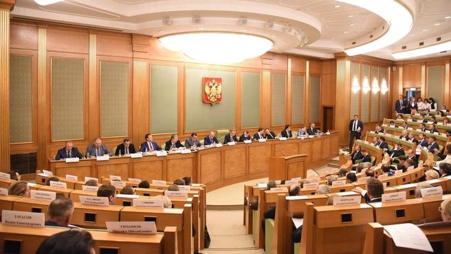 Заседание Правительственной комиссии по региональному развитию