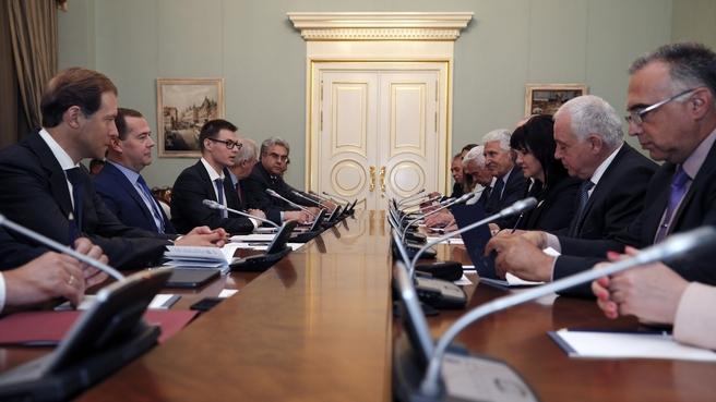 Meeting with Speaker of Bulgaria's National Assembly Tsveta Karayancheva