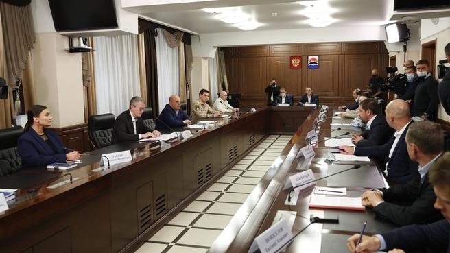 Встреча с представителями общественности Камчатского края