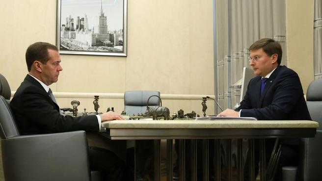 Встреча с президентом АК «АЛРОСА» Сергеем Ивановым