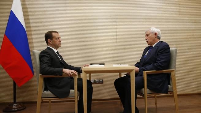Встреча с губернатором Санкт-Петербурга Георгием Полтавченко