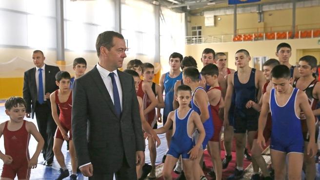 Посещение Академии борьбы имени А.Хадарцева