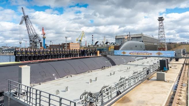 Головной многоцелевой атомный подводный крейсер «Казань»