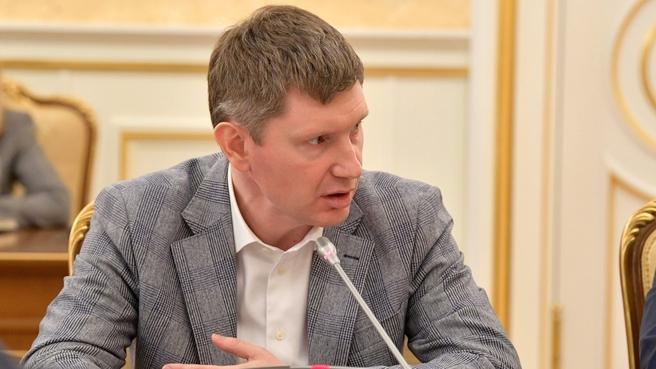 Сообщение Максима Решетникова на совещании по экономическим вопросам
