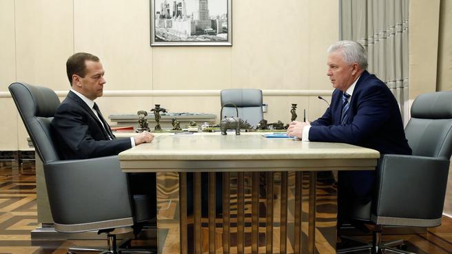 Встреча с главой Республики Бурятия Вячеславом Наговицыным