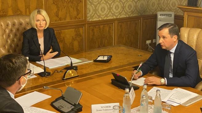 Виктория Абрамченко провела совещание о создании эффективной системы обращения с ТКО в Архангельской области