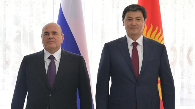 Mikhail Mishustin's meeting with Prime Minister of Kyrgyzstan Ulukbek Maripov