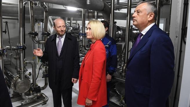 Виктория Абрамченко осмотрела новый зимовочный комплекс антарктической станции «Восток»
