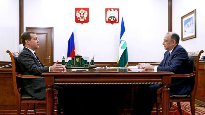 Беседа с главой Кабардино-Балкарской Республики Юрием Коковым