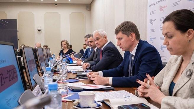 Заседание Совета директоров АО «Корпорация «МСП»